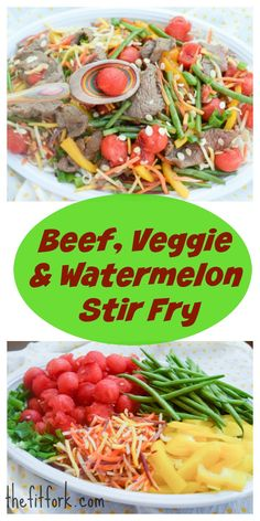 Beef Veggie and Wate