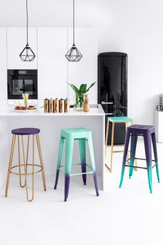 Gradient Bar Stools – Taking a seat in style