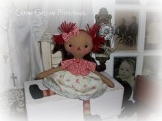 Olive Grove Primitives: cloth dolls