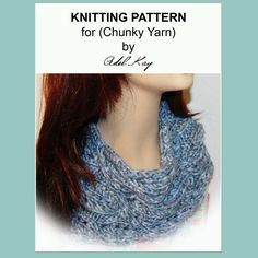 Pip Cowl Neck Snood Knitting Pattern