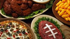 Fun Football Snacks  Superbowl Party Ideas