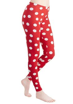 Depend on Dots Leggings. When you want to add eye-catching flair to your look, you rely on these polka-dotted leggings to help you out! #redNaN