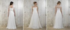 Das Brautkleid Arielle von Lambert Creations passt herrlich zu Boho und Vintage Hochzeiten.