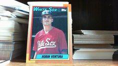 1990 Topps Robin Ventura Chicago White Sox #121 Baseball Card
