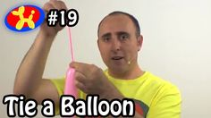 Learn how to make balloon animals. This episode will teach you How to Tie a Balloon. Twitter: https://twitter.com/mbfloyd Facebook: https://www.facebook.com/...
