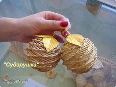 Поделка изделие Плетение Ягоды грибы  Соломка фото 2