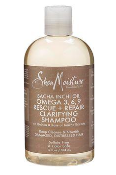 Sacha Inchi Oil Omega-3-6-9 Rescue + Repair Clarifying Shampoo -
