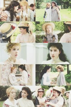 """Oh, Diana,"" said Anne at last, clasping her hands and speaking almost in a whisper, ""do you think - oh, do you think you can like me a little - enough to be my bosom friend?"""
