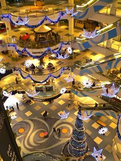 Blue City mall in Warsaw Poland