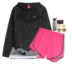"""""""Errands"""" by prep-eq ❤ liked on Polyvore featuring NIKE, Brooks Brothers, Louis Vuitton and Yves Saint Laurent"""