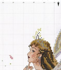 "ru / - Альбом ""The Fairy Queen"" Celtic Cross Stitch, Fantasy Cross Stitch, Cross Stitch Fairy, Cross Stitch Angels, Cross Stitch Flowers, Cross Stitch Designs, Cross Stitch Patterns, Cross Stitching, Cross Stitch Embroidery"