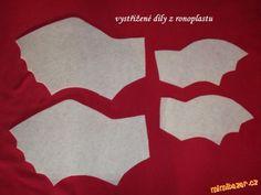 DRAK BEZZUBKA střih návod | Mimibazar.cz Flag, Science, Flags