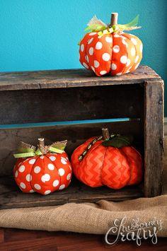 6 Perfect No Carve Pumpkin Ideas. #pumpkin #nocarve #fall #halloween