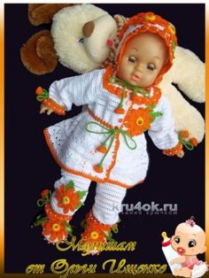 Knit & Crochet КРАСИВЫЕ ВЯЗАНЫЕ ВЕЩИ: Вязание крючком.  #вязанное #крючком #детскоеплатье