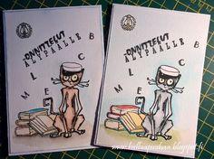 Hullua puuhaa vai vain Hullun puuhaa?: valmistujaiset/ylioppilas Graduation Cards Handmade, Comics, Art, Art Background, Kunst, Comic Book, Cartoons, Performing Arts, Comic Books