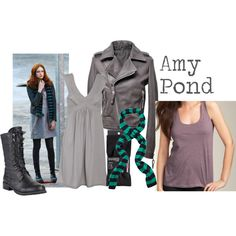 """""""Amy Pond"""" by companionclothes on Polyvore"""