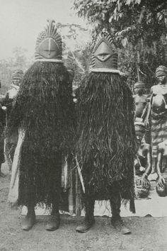 Mende dancers from Sierra Leone