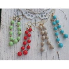Dangle Earrings Lots of colors! Claim your free pair today! #free #deal #giveaway