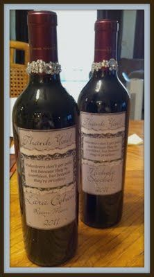 Make your own wine bottle labels