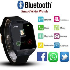 Smartwatch Cell Phone Bluetooth Watch for iPhone Android Samsung Galaxy. One machine, smart watch, mobile phone watch, synchronized watch in a watch, insert a SIM card, and use it as a regular phone. Compatibility: All Android Mobile Phone: Samsung, HTC, Sony, LG, HUAWEI, ZTE, OPPO, and so on. iOS Mobile Phone: iPhone 6, iPhone 6 plus, iPhone 5, iPhone 5s , iPhone 4, iPhone 4s.