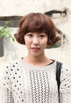 Modern Flip for Asian girls hairstyle.  Adorable!!!