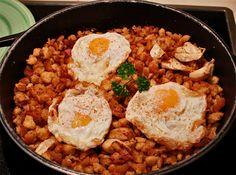 migas con huevo