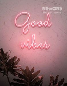 Pink Aesthetic Discover Good Vibes - Neon sign - Neon home decor Custom Neon Signs, Led Neon Signs, Soft Grunge, Rock And Roll, Neon Home Decor, Neon Rosa, Black Brick Wall, Shape Pictures, Wall Pictures