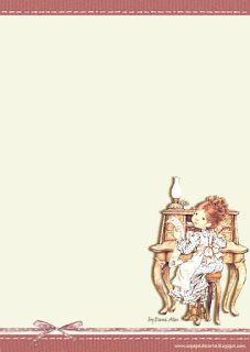 Papéis de Carta e Envelopes - Papel de Carta e Envelope - Papel de Carta e Envelope para imprimir: Sarah Kay Sarah Key, Pretty Writing, Envelopes, Free Printable Stationery, Art Cart, Cool Coloring Pages, Vintage Drawing, Holly Hobbie, Little Critter