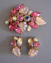 Weiss Jewelry information : Morning Glory Jewelry