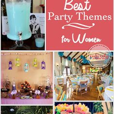 The Best Party Themes for Women