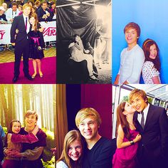 Georgie Henley and William Moseley --- I always thought that it was beyond cute that he acted like her older brother, even off camera. <3