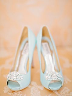 Peach & blue wedding color palette by imelda Blue Wedding Shoes, Bridal Shoes, Wedding Colors, Wedding Dress, Wedding Veils, Wedding Hair, Bridal Hair, Wedding Jewelry, Pretty Shoes