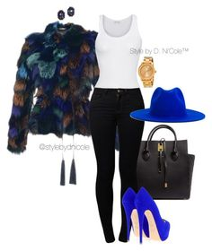 """Untitled #3201"" by stylebydnicole ❤ liked on Polyvore featuring Roberto Cavalli, Michael Kors, American Vintage, Noisy May, Giuseppe Zanotti, Études, Yves Saint Laurent, Movado, women's clothing and women"