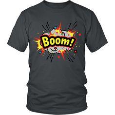 BOOM! Gray Cloud T-shirt