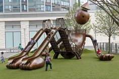 A Tin Man playground.
