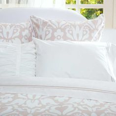 Great site for designer bedding | The Montgomery Beige Duvet Cover | Crane and Canopy
