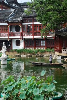 Yuyan garden (Garden of Happiness or Garden of Peace), Shanghai, China #BeautifulScenery
