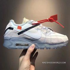 sports shoes 07198 7ef7e Men OFF-WHITE X NikeLab Air Max 90 SKU 190633-259 New Year Deals