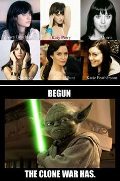Begun the Clone War has.