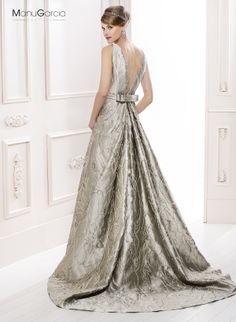 Vestido de novia. Colección 2014 #byManuGarcia