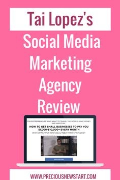 If you're looking for an unbiased review of Tai Lopez's Social Media Marketing Agency program, then this is the place for you.  The aim of Tai Lopez's Social Media Marketing agency program is to teach you how to utilise social media to make money online and start a business with it.  But can you really turn it into a $1,000-$10,000/month business? And is it really worth the money? Read on to find out... https://preciousnewstart.com/tai-lopez-social-media-marketing-agency-review/