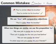Common Mistakes in English Usage English Tips, English Fun, English Writing, English Study, English Class, Learn English For Free, Learn English Grammar, Improve Your English, Learning English