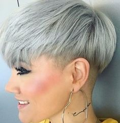 Best Short Haircuts for Women Pixie Hairstyles, Pixie Haircut, Cool Hairstyles, Short Wedge Hairstyles, Undercut Pixie, Short Grey Hair, Short Hair Cuts For Women, Short Hair Trends, Short Hair Styles