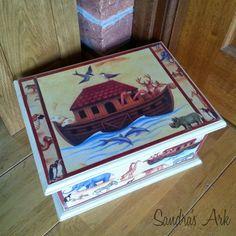Ark Memory Box at Sandra's Ark: I love Arks - A Dose of Encouragement 40 & Things I Love #1 http://www.sandrasark.blogspot.co.uk/2014/10/i-love-arks-dose-of-encouragement-40.html