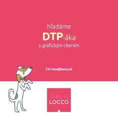 Hľadá sa DTP-ák s grafickým cítením - http://detepe.sk/hlada-sa-dtp-ak-s-grafickym-citenim/