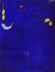 Joan Miró- catalan Paysan avec une guitare - (Joan Miro)