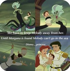 I'm glad ariel was the princess chosen to be a mother. She's a great mom.