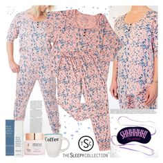 """""""The Sleepy Collection"""" by gaby-mil ❤ liked on Polyvore featuring This Works, Peach & Lily, sleepwear and thesleepycollection"""