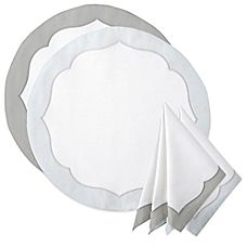 image of Waterford® Linens Cassia Placemat and Napkin