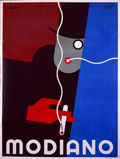 Modiano was an Italian brand of playing cards and cigarette papers. Poster by Franz Lenhart. Vintage Advertising Posters, Vintage Travel Posters, Vintage Advertisements, Retro Kunst, Retro Art, Vintage Cigarette Ads, Play Poster, Pub Vintage, Retro Poster